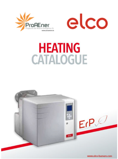 Heating Catalogue ELCO 2019